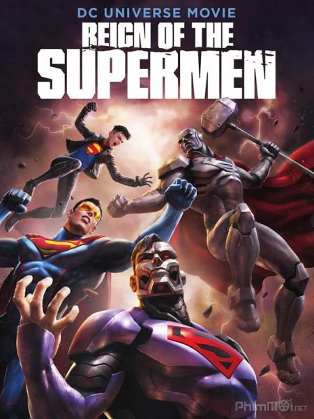 Triều Đại Của Siêu Nhân Reign Of The Supermen.Diễn Viên: Becky G,Josh Peck,Tara Strong