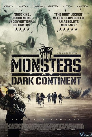 Quái Vật Lục Địa Đen Monsters: Dark Continent.Diễn Viên: Johnny Harris,Sam Keeley,Joe Dempsie