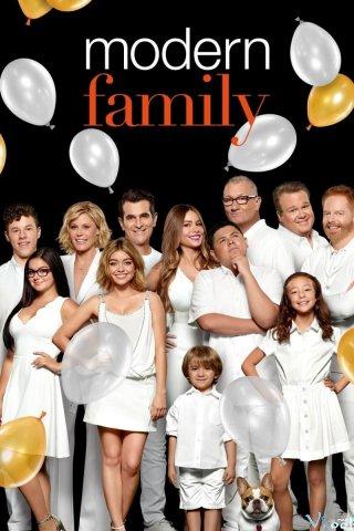 Gia Đình Hiện Đại Phần 8 Modern Family Season 8.Diễn Viên: Ed Oneill,Sofía Vergara,Julie Bowen,Ty Burrell