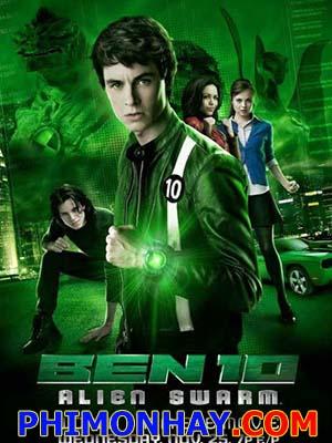Cậu Bé Biến Hình 2 Ben 10: Alien Swarm.Diễn Viên: Ryan Kelley,Alyssa Diaz,Nathan Keyes
