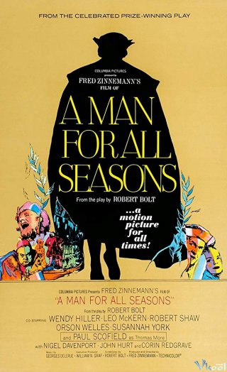Thánh Thomas More A Man For All Seasons.Diễn Viên: Paul Scofield,Wendy Hiller,Robert Shaw