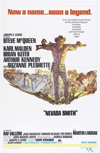 Trả Thù Miền Viễn Tây Nevada Smith.Diễn Viên: Steve Mcqueen,Karl Malden,Brian Keith