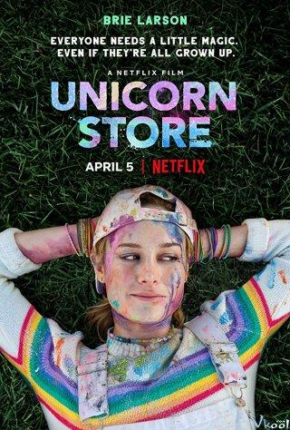 Giấc Mơ Của Tuổi Thơ Cửa Hàng Kỳ Lân: Unicorn Store.Diễn Viên: Brie Larson,Samuel L Jackson,Bradley Whitford