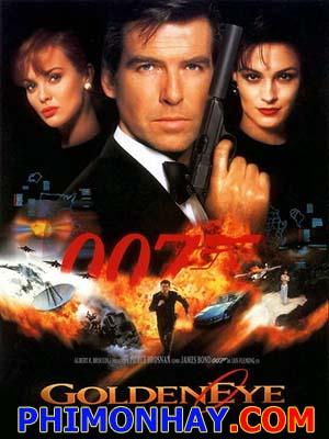 Điệp Viên 007: Mắt Vàng James Bond: Goldeneye.Diễn Viên: Pierce Brosnan,Sean Bean,Izabella Scorupco
