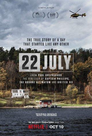 Thảm Kịch 22 July.Diễn Viên: Anders Danielsen Lie,Jonas Strand Gravli,Jon Øigarden