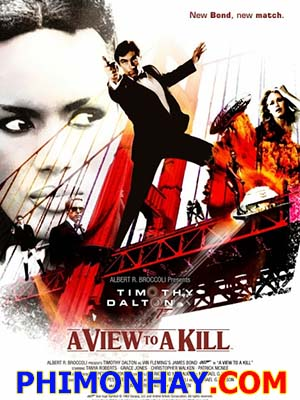 Điệp Viên 007: Tầm Sát Thương James Bond: A View To A Kill.Diễn Viên: Roger Moore,Christopher Walken,Tanya Roberts
