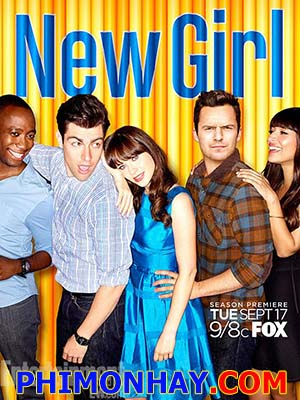 Cô Gái Kỳ Quặc Phần 3 New Girl Season 3.Diễn Viên: Jake Johnson,Zooey Deschanel,Max Greenfield