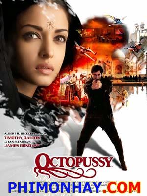 Điệp Viên 007: Âm Mưu Bạch Tuộc James Bond: Octopussy.Diễn Viên: Roger Moore,Maud Adams,Louis Jourdan
