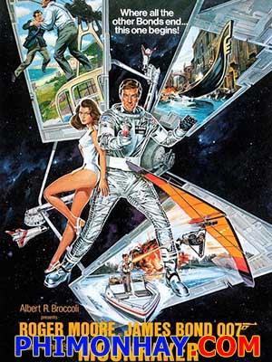 Điệp Viên 007: Người Đi Tìm Mặt Trăng James Bond: Moonraker.Diễn Viên: Roger Moore,Lois Chiles,Michael Lonsdale