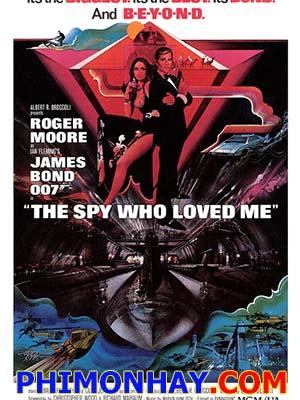 Điệp Viên 007: Phải Lòng Địch Thủ James Bond: The Spy Who Loved Me.Diễn Viên: Roger Moore,Barbara Bach,Curd Jürgens