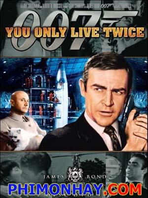 Điệp Viên 007: Bạn Chỉ Sống Hai Lần James Bond: You Only Live Twice.Diễn Viên: Sean Connery,Akiko Wakabayashi,Mie Hama