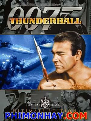 Điệp Viên 007: Quả Cầu Sấm Sét James Bond: Thunderball.Diễn Viên: Sean Connery,Claudine Auger,Adolfo Celi