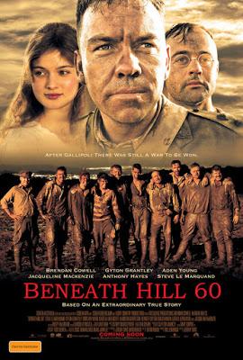 Bên Dưới Ngọn Đồi 60 Beneath Hill 60.Diễn Viên: Brendan Cowell,Harrison Gilbertson,Steve Le Marquand