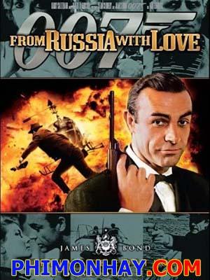 Điệp Viên 007: Tình Yêu Đến Từ Nước Nga James Bond: From Russia With Love.Diễn Viên: Sean Connery,Robert Shaw,Lotte Lenya