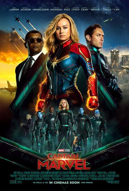 Đại Úy Marvel Captain Marvel.Diễn Viên: Ben Mendelsohn,Brie Larson,Samuel L Jackson