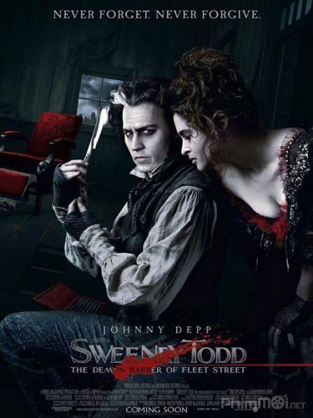 Gã Thợ Cạo Ma Quỷ Trên Phố Fleet Sweeney Todd: The Demon Barber Of Fleet Street.Diễn Viên: Alan Rickman,Helena Bonham Carter,Johnny Depp