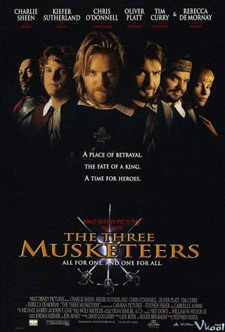 Ba Chàng Lính Ngự Lâm The Three Musketeers.Diễn Viên: Charlie Sheen,Kiefer Sutherland,Chris Odonnell