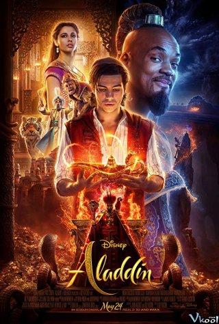 Aladdin Và Cây Đèn Thần Aladdin.Diễn Viên: Will Smith,Mena Massoud,Naomi Scott,Marwan Kenzari,Nasim Pedrad