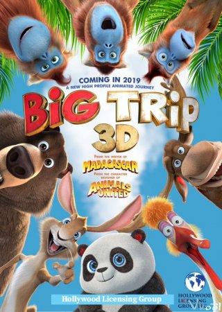 Gấu Trúc Về Nhà The Big Trip.Diễn Viên: José Raposo,Rui Unas,Diogo Dias,Fernando Mendes