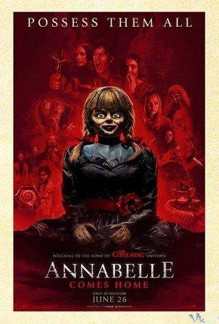 Ác Quỷ Trở Về - Annabelle Comes Home