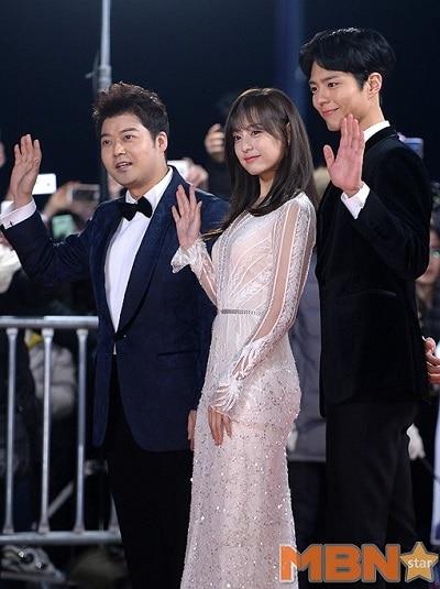 Lễ Trao Giải Mbc 2016 Mbc Drama Awards.Diễn Viên: Shin Dong Yup,Lee Bo Young