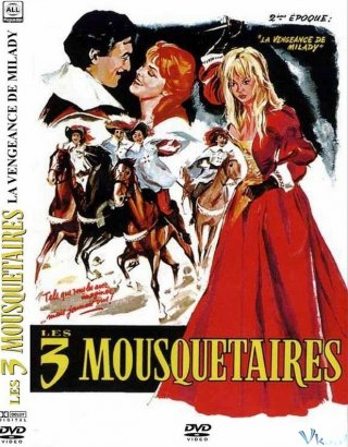 3 Người Lính Ngự Lâm: Trả Thù Vengeance Of The Three Musketeer.Diễn Viên: Gérard Barray,Mylène Demongeot,Perrette Pradier