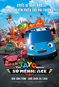 Tayo: Sứ Mệnh Ace The Tayo Movie: Mission Ace.Diễn Viên: Aramis Merlin,Clarissa Hoffmann,Patricia Kalis