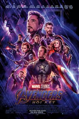 Biệt Đội Siêu Anh Hùng: Hồi Kết Avengers: Endgame.Diễn Viên: Chris Evans,Mark Ruffalo,Robert Downey Jr