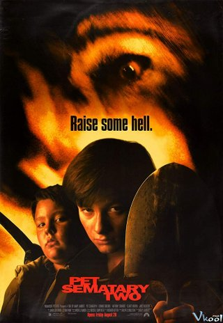 Quái Thú 2 Pet Sematary Ii.Diễn Viên: Edward Furlong,Anthony Edwards,Clancy Brown,Jared Rushton