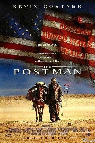 Người Đưa Thư The Postman.Diễn Viên: Kevin Costner,Will Patton,Larenz Tate,Olivia Williams