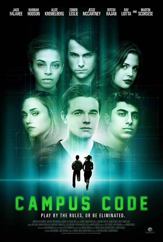 Kẻ Tàng Hình Bí Ẩn Campus Code.Diễn Viên: Alice Kremelberg,Hannah Hodson,Jesse Mccartney