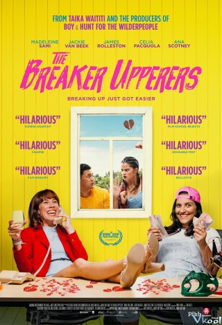Dịch Vụ Chia Tay - The Breaker Upperers Việt Sub (2018)