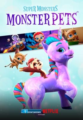 Hội Quái Siêu Cấp: Quái Vật Thú Cưng Super Monsters Monster Pets.Diễn Viên: Andrea Libman,Erin Mathews,Vincent Tong