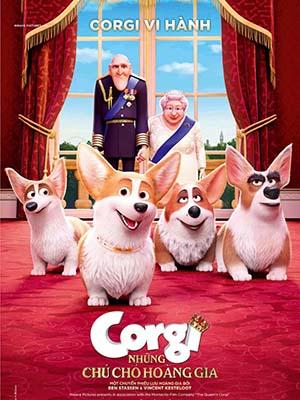 Những Chú Chó Hoàng Gia The Queens Corgi.Diễn Viên: Jack Whitehall,Julie Walters