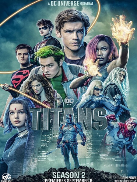 Biệt Đội Titans Phần 2 Titans Season 2.Diễn Viên: Earth Gaea