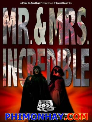 Thần Kỳ Hiệp Lữ - Mr And Mrs Incredible