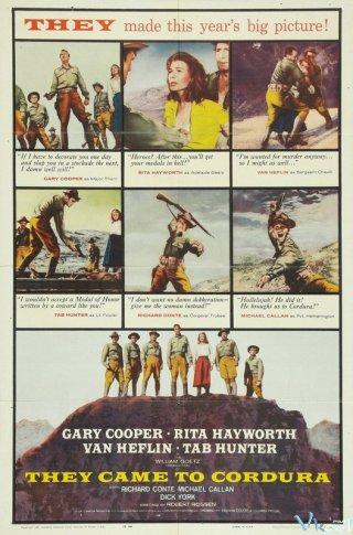 Người Lính Hèn Nhát - They Came To Cordura