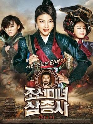Nữ Thợ Săn Tiền Thưởng Ba Nữ Kiếm Khách: The Huntresses.Diễn Viên: Ha Ji Won,Gang Ye Won,Son Ga In