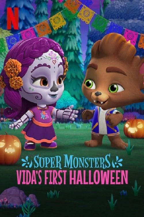 Hội Quái Siêu Cấp: Halloween Đầu Tiên Của Vida Super Monsters: Vidas First Halloween.Diễn Viên: Andrea Libman,Erin Mathews,Vincent Tong