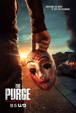 Ngày Thanh Trừng Phần 2 The Purge Season 2.Diễn Viên: Antonia Thomas,Freddie Highmore,Nicholas Gonzalez,Hill Harper,Beau Garrett