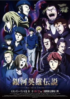 Ginga Eiyuu Densetsu: Die Neue These - Seiran 2 The Legend Of The Galactic Heroes: The New Thesis.Diễn Viên: Stellar War Part 2