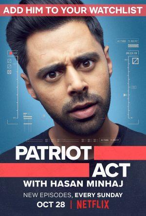 Đạo Luật Yêu Nước Phần 1 Patriot Act With Hasan Minhaj Season 1.Diễn Viên: Ben Stiller,Teri Polo,Robert De Niro Đạo Diễn,John Hamburg,Larry Stuckey