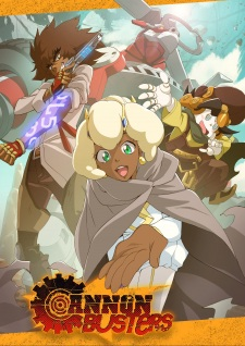 Cannon Busters - Comic Book Series
