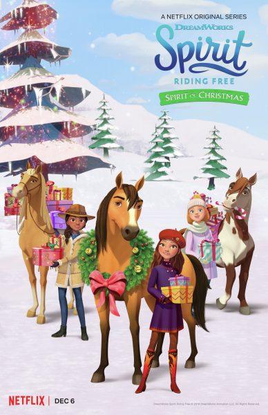 Chú Ngựa Spirit: Tự Do Rong Ruổi: Giáng Sinh Cùng Spirit Spirit Riding Free: Spirit Of Christmas