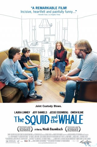 Mồi Mực Và Cá Voi The Squid And The Whale.Diễn Viên: Emma Thompson,Colin Firth,Angela Lansbury