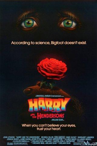 Quái Vật Chân To Và Nhà Henderson Harry And The Hendersons.Diễn Viên: Sammo Hung Kam,Bo,Karl Maka,Sylvia Chang