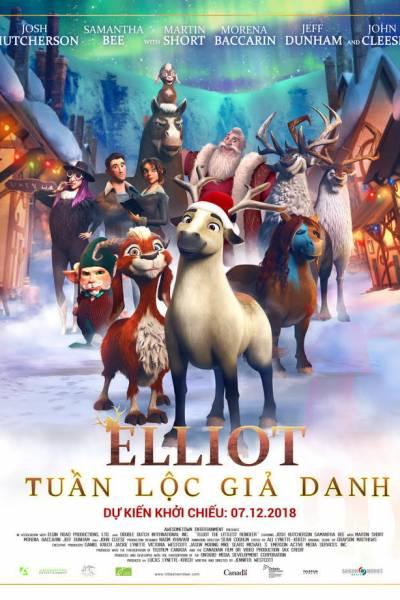 Elliot: Tuần Lộc Giả Danh Elliot The Littlest Reindeer.Diễn Viên: Seth Rogen,Kristen Wiig,Jonah Hill