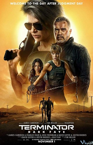 Kẻ Hủy Diệt 6: Vận Mệnh Đen Tối Terminator: Dark Fate.Diễn Viên: Nicole Kidman,Tatiana Maslany,Sebastian Stan