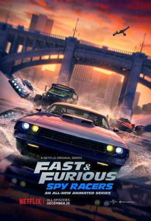 Quá Nhanh Quá Nguy Hiểm: Điệp Viên Tốc Độ Fast & Furious: Spy Racers.Diễn Viên: Eiza González,Dwayne Johnson,Vanessa Kirby