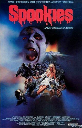 Ma Chơi Spookies.Diễn Viên: Michael Keaton,Deborah Kara Unger,Ian Mcneice
